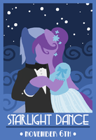 Starlight Dance Poster by SorcerusHorserus