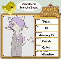 PKMN Crossing App - Yuu by iwayew