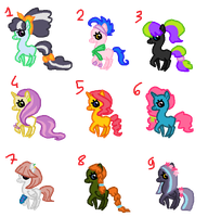 Cheap Adopts (1 left) by BronyBase