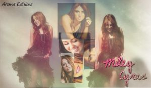 Miley Cyrus Wallpaper by Demilovatoisperfect