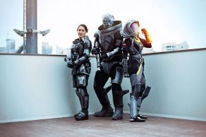 Mass Effect cosplay - Ozcon 01 by Millster-Ink