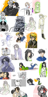 iscribble dump 14 by Peach-Muffinz