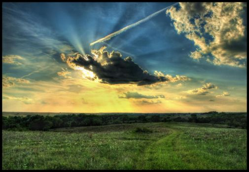 Summertime Kansas by FramedByNature