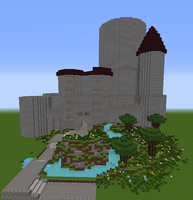 The Start of My Minecraft Castle by EmilyDaCool