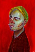 new selfportrait by MaggiElvar