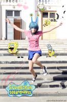SpongeBob: My happy pet Gary :3 by palecardinal