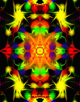 Fractal Abstract 2, 4-12-11 by Hillbillygirl