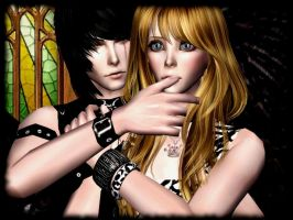 Fallen Angel - The Sims 2 by CSItaly