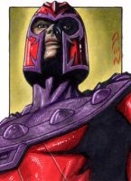 Magneto - X-Men - Sketch Card by J-Redd