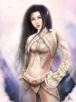 elf lineage 2 major arcana by landycakep