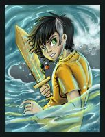 Percy Jackson by sharkie19