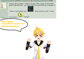 Question 233 by AskLenKagamine02