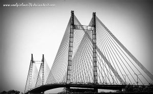 2nd Hooghly Bridge by coolpixlover74
