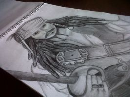 captain jack sparrow :) by amandraw