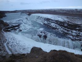 Gullfoss by Fan-Evelyne