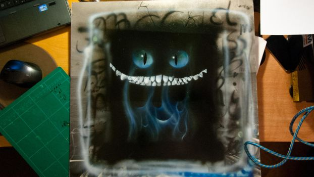 Cheshire Cat by marcootje0147