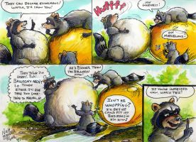 Raccoons 4 by Inflato-Phraggle