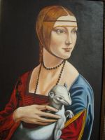 The lady with the ermine by riodream