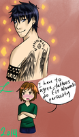 JR: Tatted Nowaki by Lucicelo