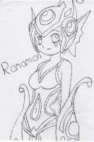 Ranamon by kid-suicune45