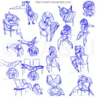 Dr Sketchy Oct 2009 by mashi