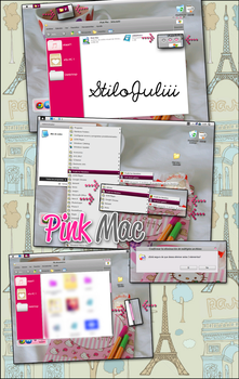 Pink Mac For Windows XP by StiloJuliii