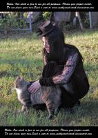 Lady With A Cat And A Hat (8) by Mithgariel-stock