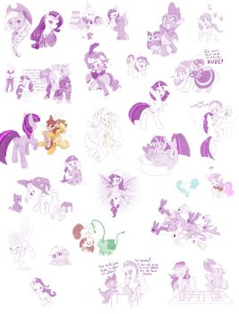 MLP Season 1 Sketch Dump by dstears