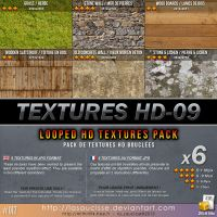 Free Textures : 017-Textures-HD-09 by lasaucisse