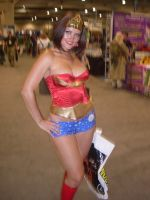 Wonder Woman Comic Con by mjac1971