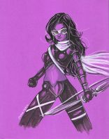 Hawkeye sketch 051810 by raccoon-eyes
