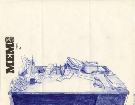 Desk, Cinema 1 and 2 by toddalcott