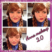 Anna makeup test 2.0 by Labyrinthinwyrm