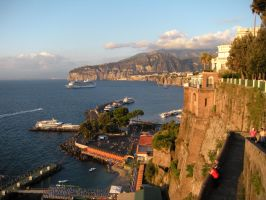 Sorrento Cliffs by Hockeygirl93