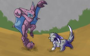 Rivals til the end? by Wildbatty