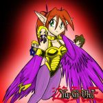 Harpygirl and co. by mewgal