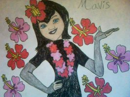 Mavis of Hawaii from Hotel Transylvania by Kailie2122