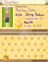 PKMNC: Marley Ross (New App) by Otato-Otato