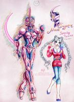 Crossover: Guyver Moon by Lucithea