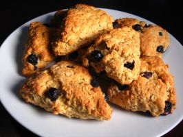 Scottish Oat Scones by mrskupe