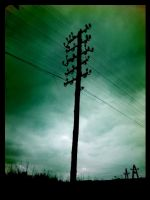 old-fashioned pylon by syfonek