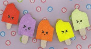 Angry Popsicle Pins by RyuuseiHime