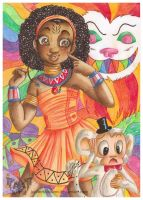 Alice in Africa-land by JupiterBlossem