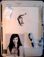 Drawing Board - Liv Tyler by imaginee