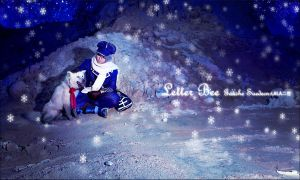 Letter Bee:Silent Night by LALAax