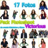 Pack Photoshoot Victorious by luceroval