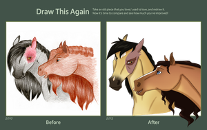 Draw This Again: Zutara horses by Cat-Orb