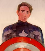 Cpt America movie version by Barukurii