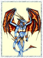 Selianth Anthro coloured by Selianth