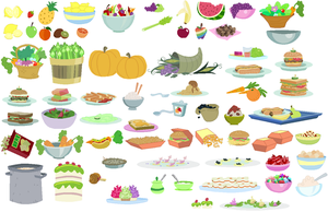 Food Accessory Set 02 by SelenaEde
